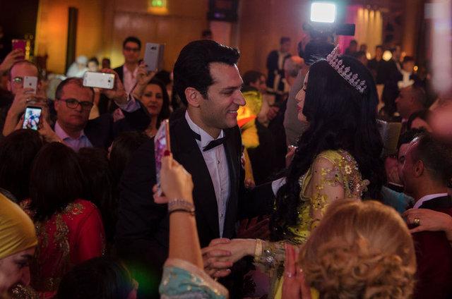 Murat Yıldırım ve İman El-Bani Fas'ta ikinci düğününü yaptı