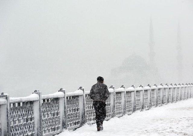 Hava durumu 23.01.2017 İstanbul'a kar yağacak mı? İstanbul'a kar ne zaman geliyor?
