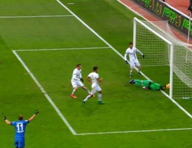 Kasımpaşa - Trabzonspor maçında top çizgiyi geçti mi?