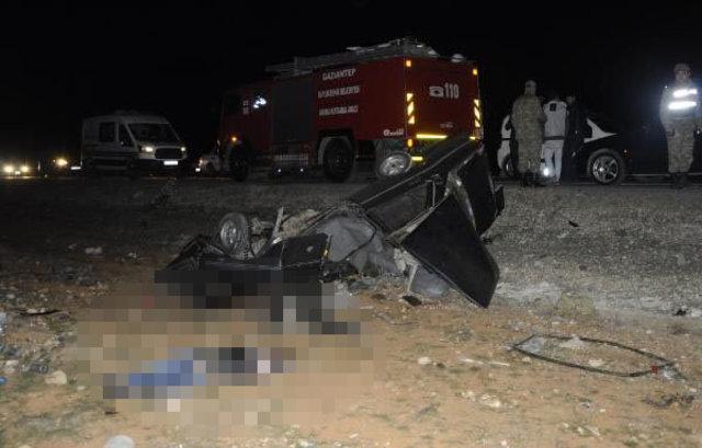 Gaziantep'te feci kaza: 3 ölü, 7 yaralı