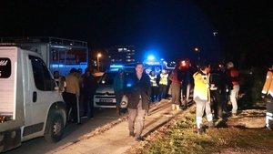 İzmir'de otomobil dereye uçtu: 1 ölü