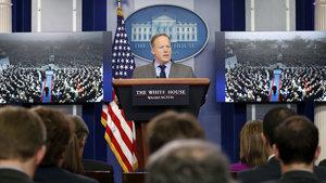 Beyaz Saray'ın yeni sözcüsü Sean Spicer'dan ABD basınına tepki