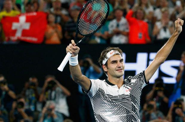 Roger Federer, Avustralya Açık'ta çeyrek finalde!