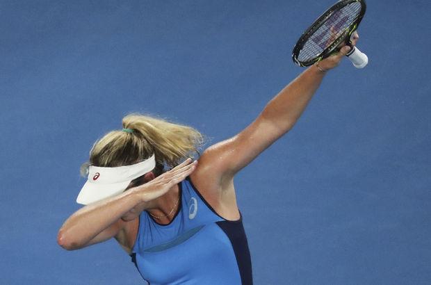 Angelique Kerber, Avustralya Açık'a veda etti