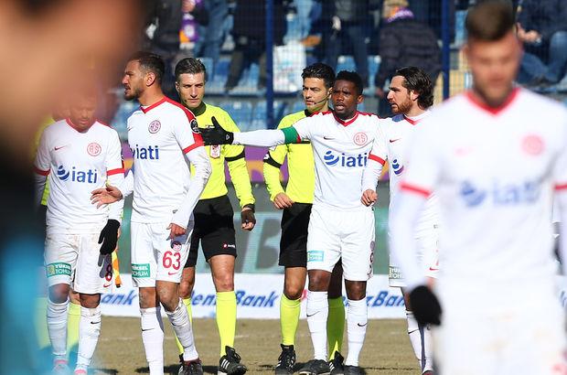 Osmanlıspor: 1 - Antalyaspor: 2 | MAÇ SONUCU