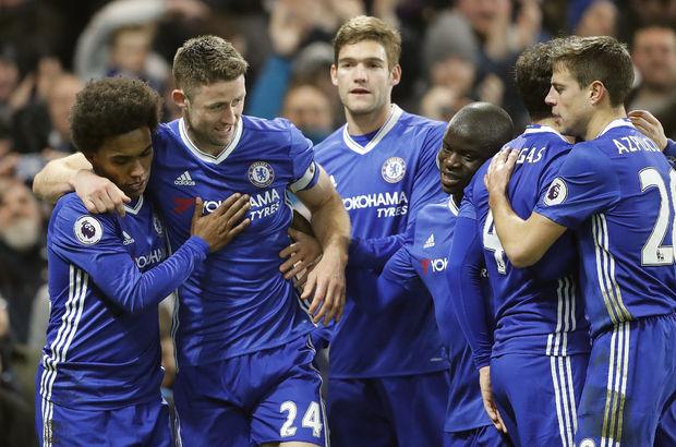 Chelsea: 2 - Hull City: 0