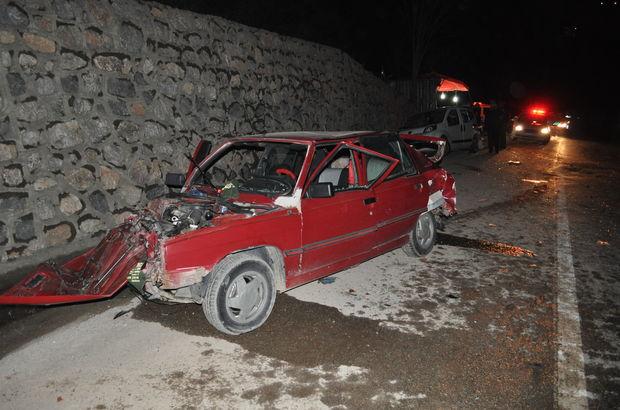 Sakarya'da zincirleme trafik kazası: 8 yaralı