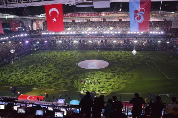 Trabzonspor'un yeni stadındaki ilk maçı belli oldu