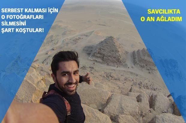 Mısır'da Keops piramidinin zirvesine çıkan Türk öğrenci gözaltına alındı!