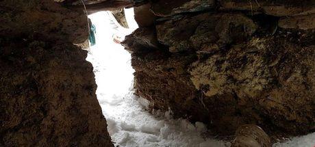 Tunceli'de teröristlerin kullandığı 19 sığınak bulundu