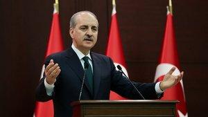 Başbakan Yardımcısı Numan Kurtulmuş Bakanlar Kurulu toplantısı sonrası konuşuyor