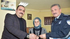 Kayseri'de kaybolan ziynet eşyasının sahibini 'Anons' ile buldular