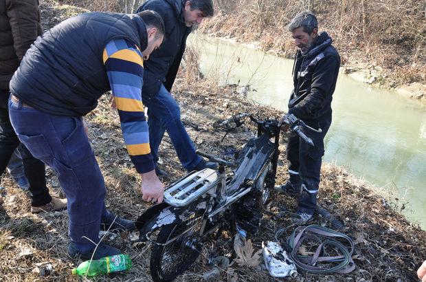 Tamirciye kızdı, özel yapım motosikletini yaktı