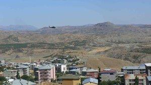 """Siirt'te """"Geçici Özel Güvenlik Bölgesi"""" uygulaması"""