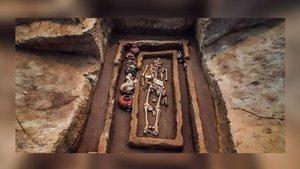 400 yıllık mezarlıktaki sır