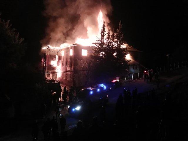 Aladağ'daki yurt yangını faciasında bilirkişi raporu hazırlandı
