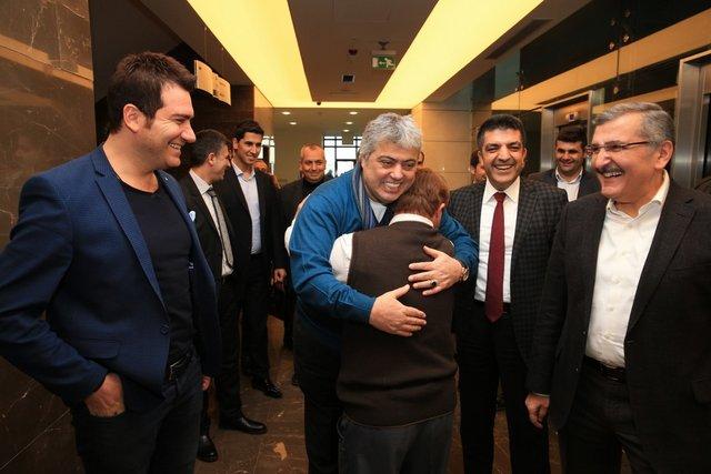 Cumhurbaşkanı Erdoğan'ın manevi oğlu İbrahim Ertepe'ye sürpriz doğum günü
