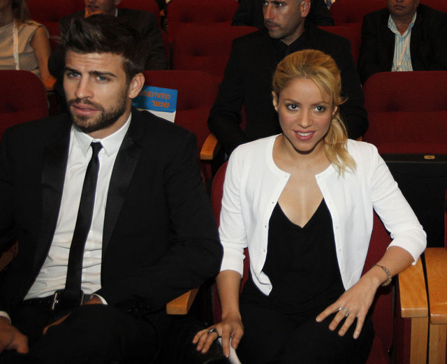 Shakira ve Gerard Pique'nin olay videosu