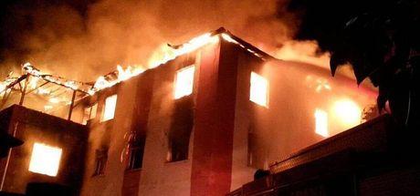 Aladağ'daki yangın faciası davasında 4 kişiye tahliye