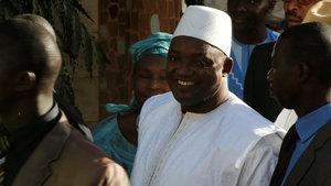 Gambiya'nın yeni başkanı, kadın yardımcı atadı