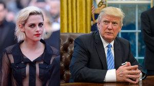 Kristen Stewart: Trump, birkaç yıl önce benim için deliriyordu