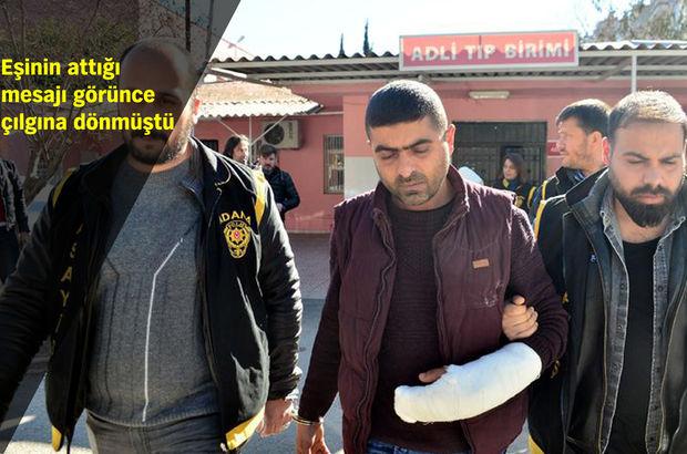 Adana'daki cinsel içerikli mesaj cinayetine 1 tutuklama