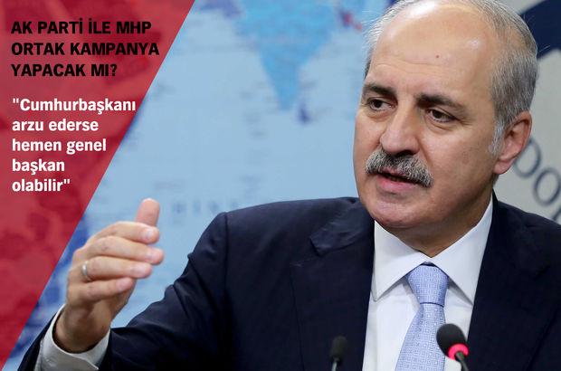 Başbakan Yardımcısı Numan Kurtulmuş'tan açıklamalar
