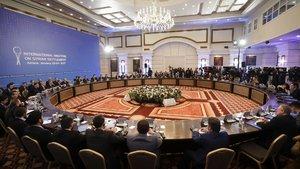 Astana görüşmelerinde ikinci gün