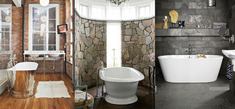Birbirinden muhteşem 36 taş banyo dekorasyonu