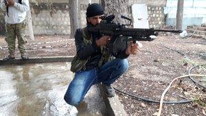 Kilis'te keskin nişancı DEAŞ'lı terörist yakalandı