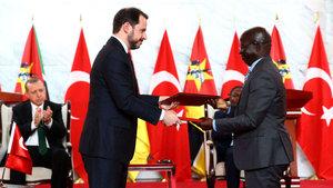 Türkiye ile Mozambik arasında farklı alanlarda anlaşma sağlandı