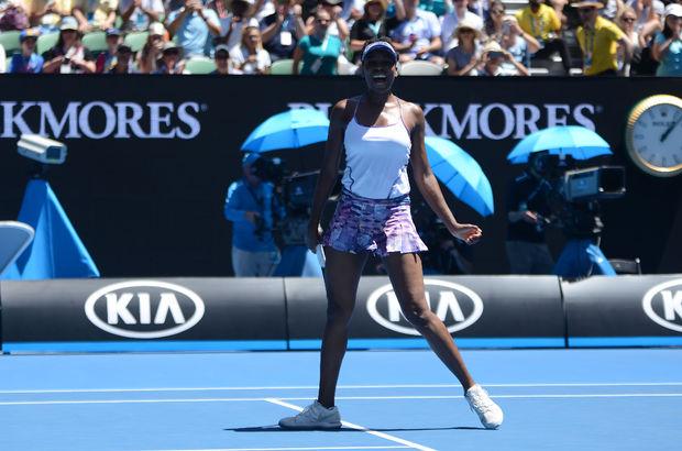 Venus Williams yarı finale çıktı