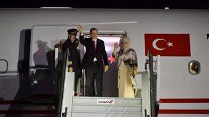 Cumhurbaşkanı Erdoğan, Madagaskar'a gitti
