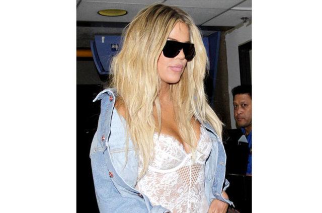 Khloe Kardashian'ın kalçaları gerçek değilmiş