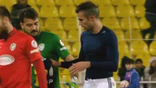 Van Persie'nin panenka penaltısı