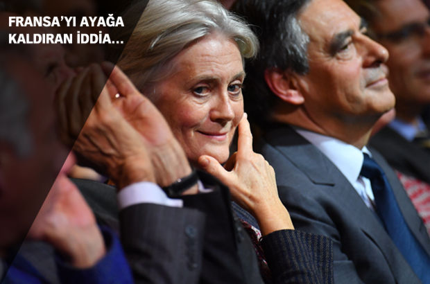 Fransa'da François Fillon'un eşi için skandal iddia