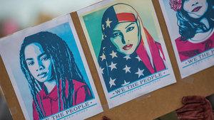 Trump'a karşı direnişin yüzü Müslüman Munire