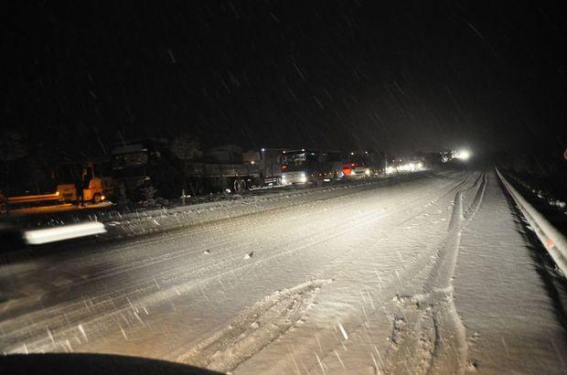 Başkent Ankara'da kar yağışı etkili oldu