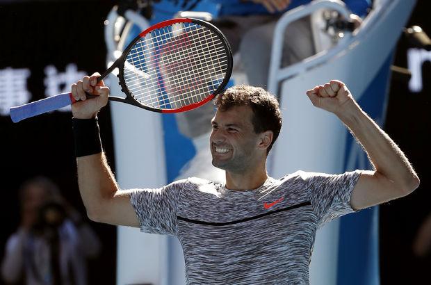 Grigor Dimitrov, Avustralya Açık'ta yarı finalde