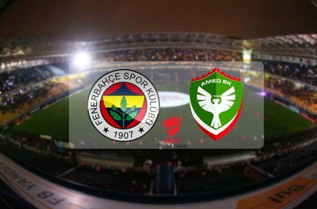 Fenerbahçe Amed Sportif Faaliyetler maçı saat kaçta?