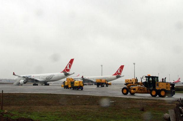 Atatürk Havalimanı kar yağışı için alarmda