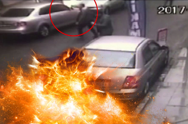 Okmeydanı'nda bir tamirhanede yangın çıktı!