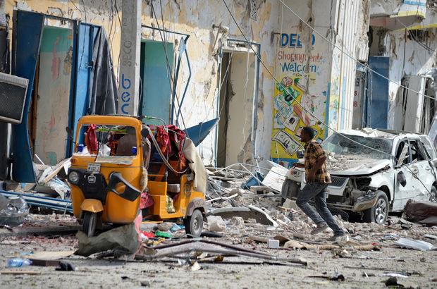 Somali'de Eş Şebab bir otele baskın düzenledi!