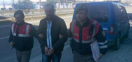 Katil zanlısı yurt dışına kaçmaya çalışırken yakalandı