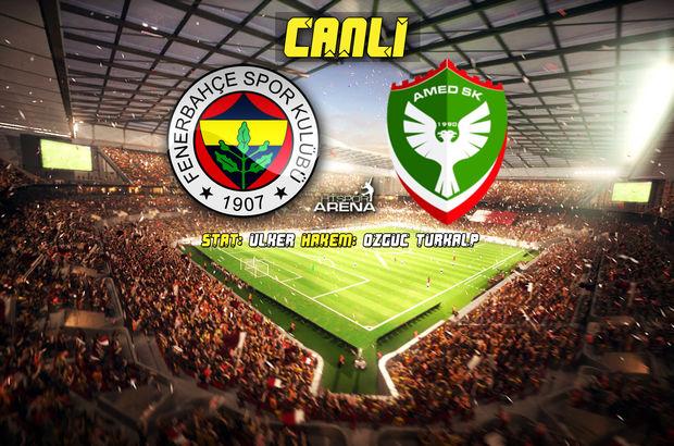 Fenerbahçe: 3 - Amedspor: 0   MAÇ SONUCU