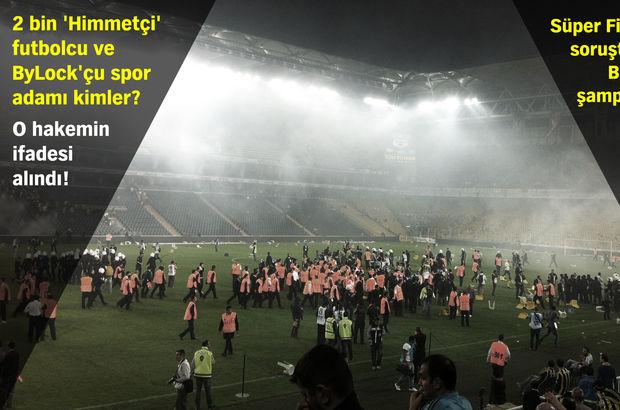 Futbolun 8 yılına FETÖ soruşturması