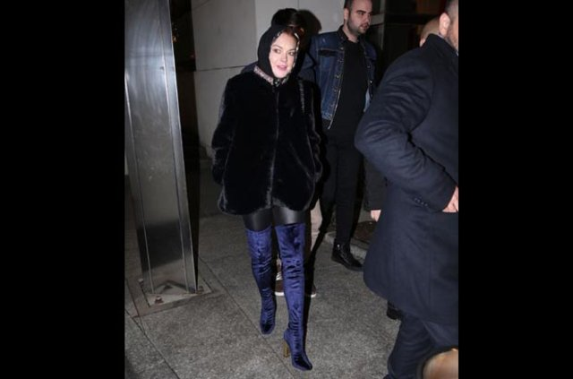 Lindsay Lohan yine İstanbul'da