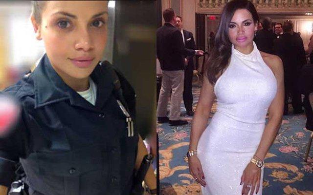 ABD'nin seksi polisi Samantha Sepulveda