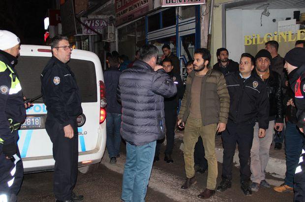 Karaman'da markette silahlı soygun