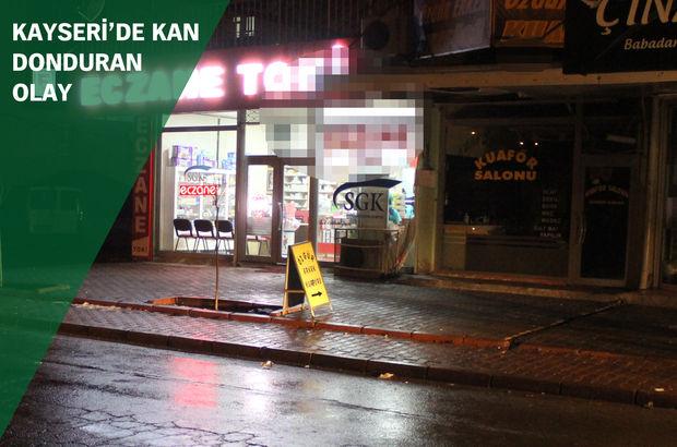 Kayseri'de korkunç cinayet